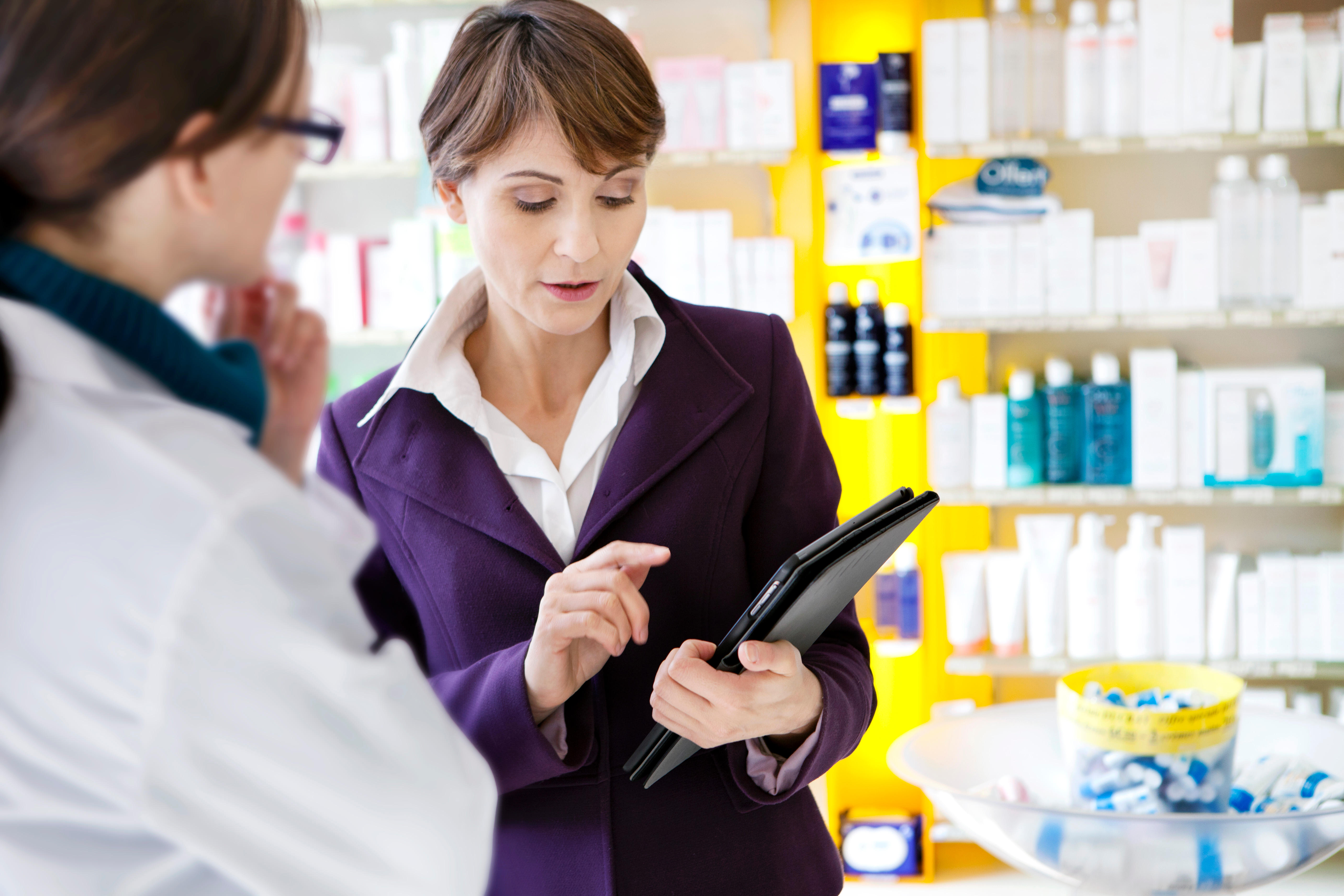 Pharmaceutical sales representative